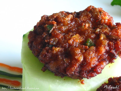 Chemmeen Vada - Kerala Style Prawn Fritters