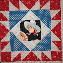 Ithell's Cowboy Quilt Detail