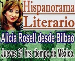 HISPANORAMA LITERARIO PROGRAMA DE ALICIA ROSELL Clik sobre la imágen para escuchar