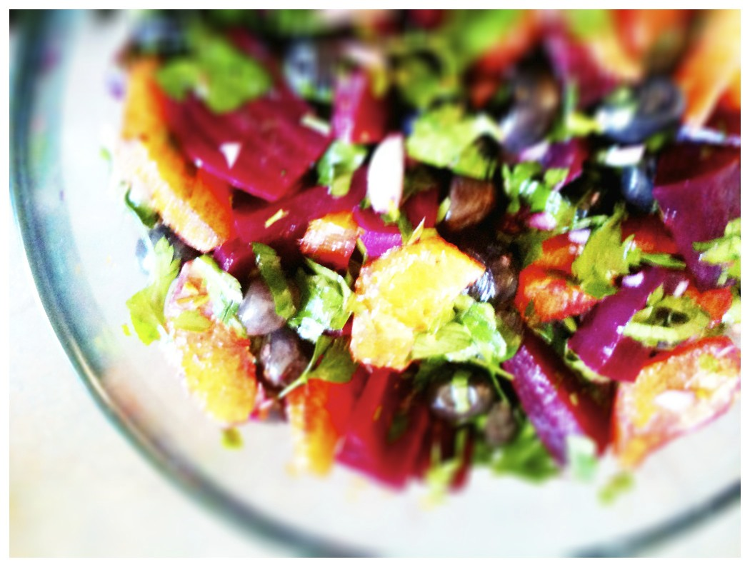 recipe: ottolenghi beetroot salad [10]
