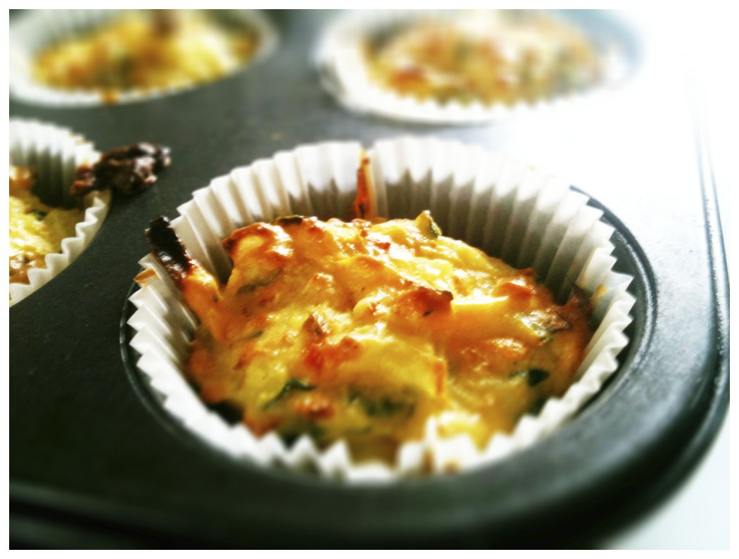 Toast: Zucchini Muffins