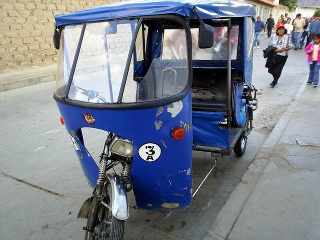 Solapa SCT operación ilegal de mototaxis