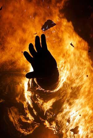 Se prendió fuego