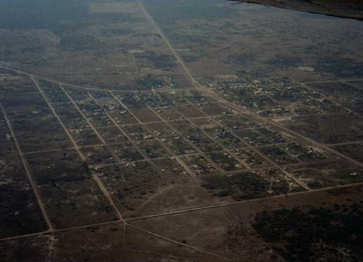 Zona noroeste de Fortín Olmos
