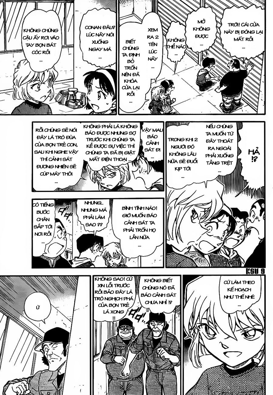 Detective Conan - Thám Tử Lừng Danh Conan chap 754 page 10 - IZTruyenTranh.com
