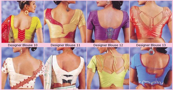 We do have interesting and unique saree blouse patterns if interested please