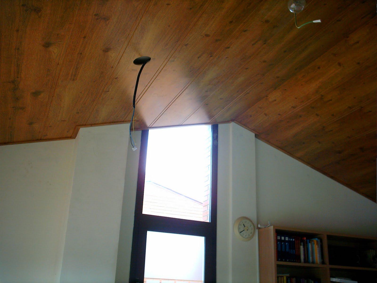 Ca uelo e hijos carpinteria s c p decoracion en madera for Falso techo rustico