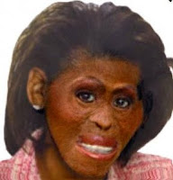 Michelle+obama+monkey+face