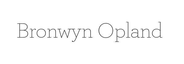 Bronwyn Opland
