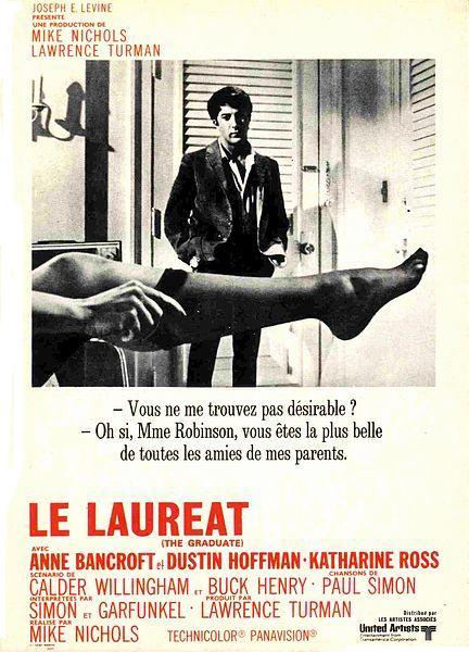 http://2.bp.blogspot.com/_cf1t0yCs9EQ/TGFf3J5iDoI/AAAAAAAAAQQ/8whrLUitMzk/s640/affiche-Le-Laureat-The-Graduate-1967-2.jpg