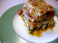 Weight Loss Recipes : Veggie Lasagna