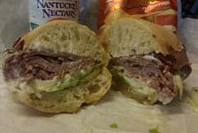 Weight Loss Recipes : Roast Beef Sandwich with Horseradish Mayo
