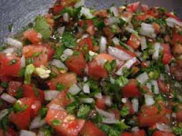 Weight Loss Recipes: POTATO BLINI WITH SALSA CRUDA