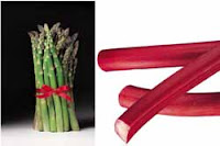 Weight loss recipes : Asparagus and Rhubarb