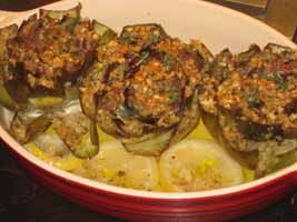 Weight loss recipes : Skinny Stuffed Artichokes