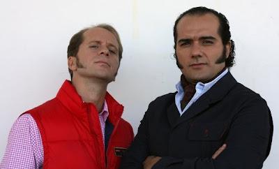 Rafi y Fali, de MundoFicción, representantes del enterismo