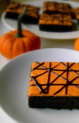 A Bowl Of Mush Chocolate Amp Pumpkin Squares