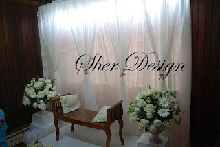 WEDDINGS BY SHER Mini Pelamin Faiz