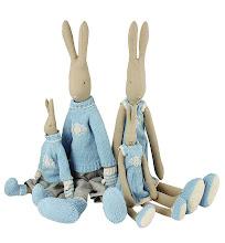 Kjempesøt kaninfamilie