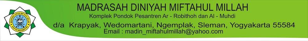MADRASAH DINIYAH MIFTAHUL MILLAH KRAPYAK
