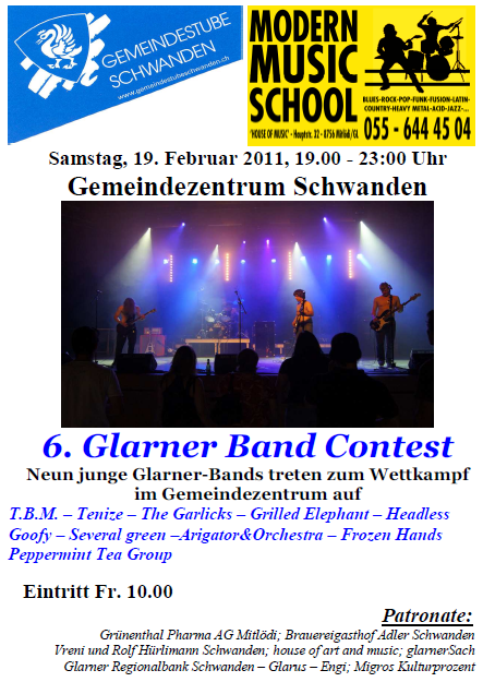 6. Glarner Band Contest