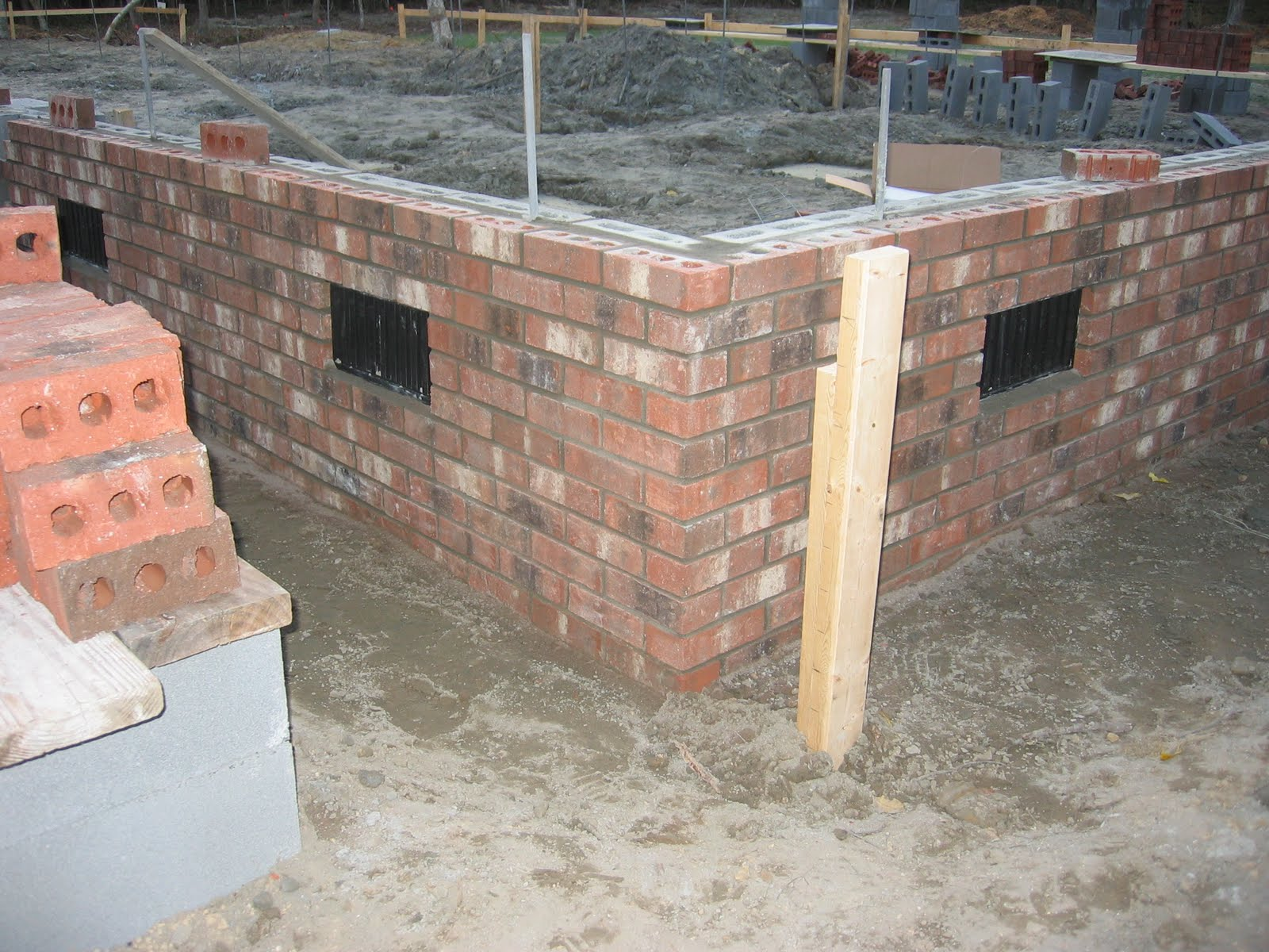 215 Ash Lane Brick Foundation