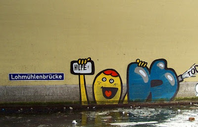Grafffiti Lohmuehlenbruecke Berlin Alt-Treptow