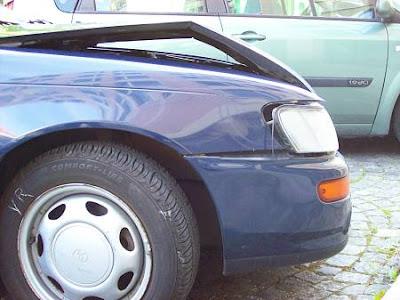 Toyota nach Auffahrunfall