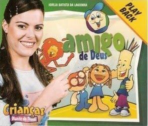 Crianças Diante Do Trono 2   Amigo De Deus (2003) Play Back | músicas