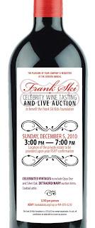 Frank Ski Celebrity Wine Tasting