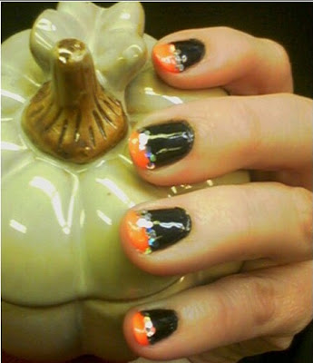 halloween nail art, halloween nail art ideas, halloween art designs,nail art designs, nail polish