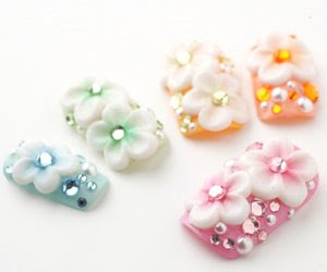 premium 3d nail art, japanese nail art and nail tips designed and hand made