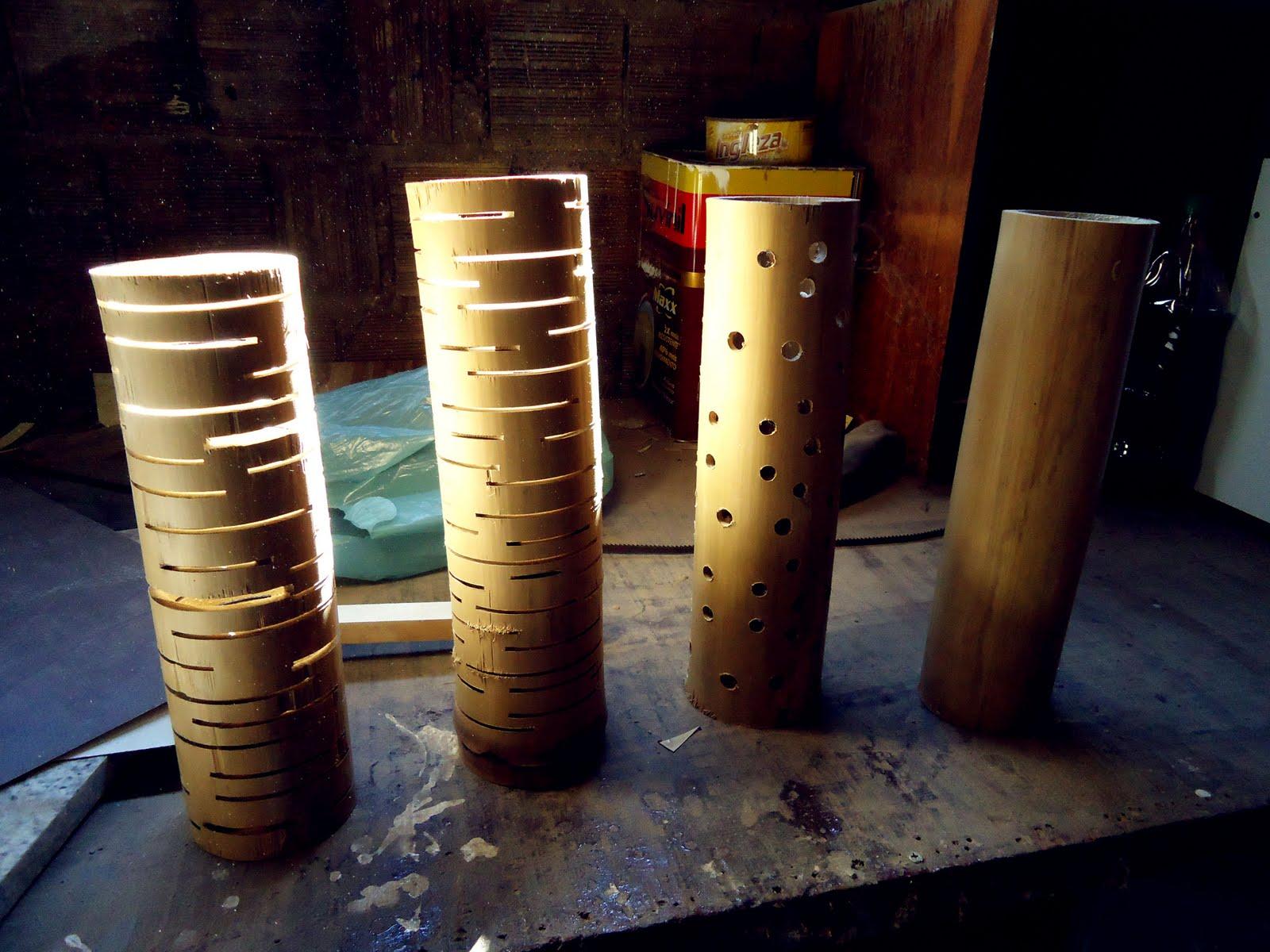 Artesanato Em Florianopolis Sc ~ Tecnologia Luminária de bambu