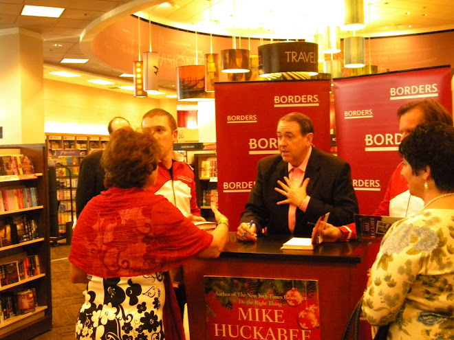 Meeting Mike Huckabee Nov 15, 2009