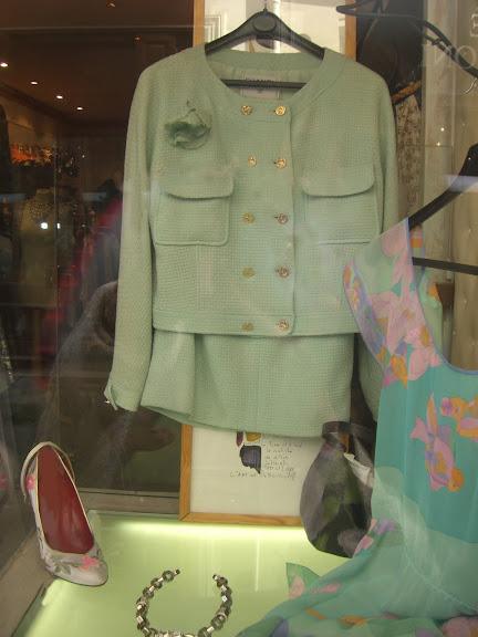 Gabrielle Geppert vintage store Paris