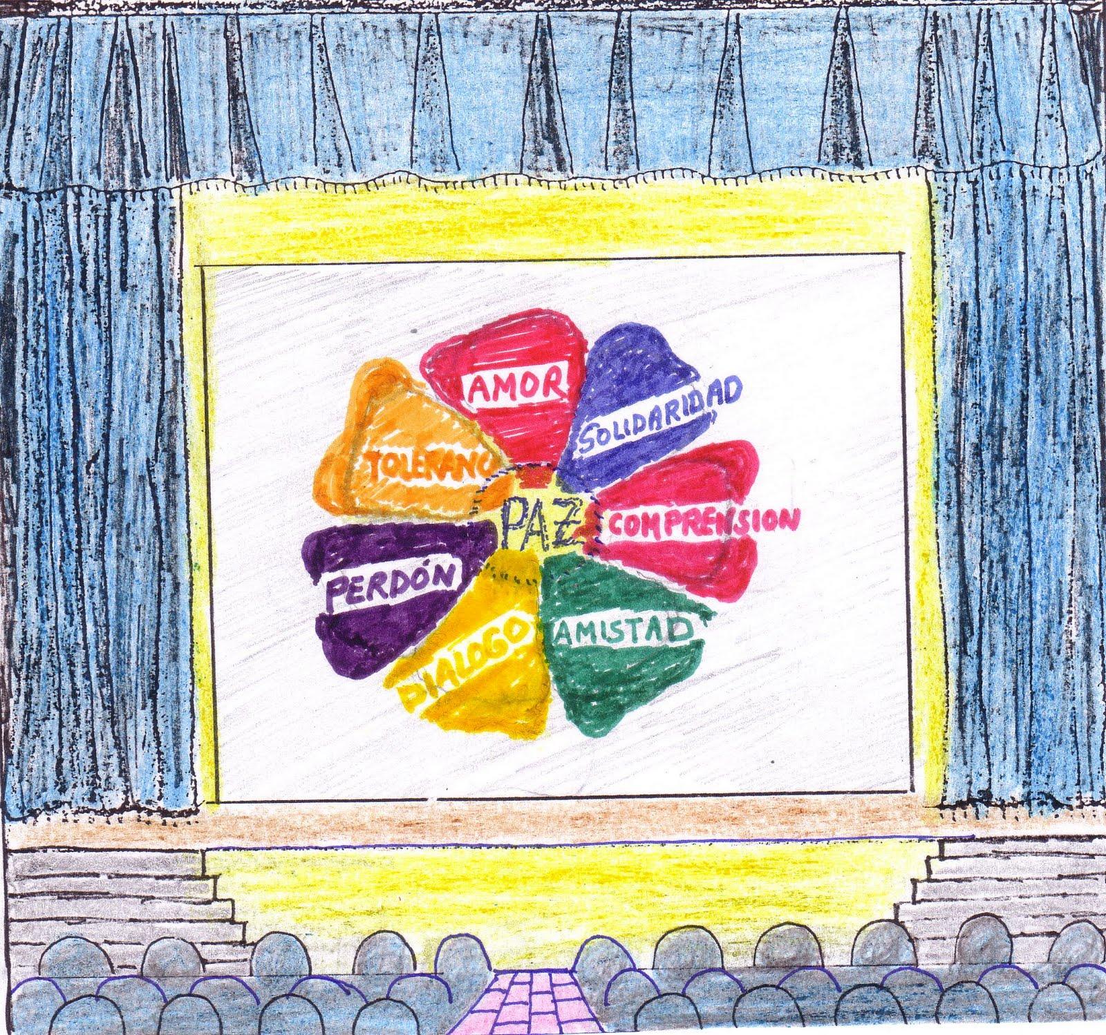 Plays For School Obras de Teatro Para Escolares.: ES LA FLOR DE LA PAZ