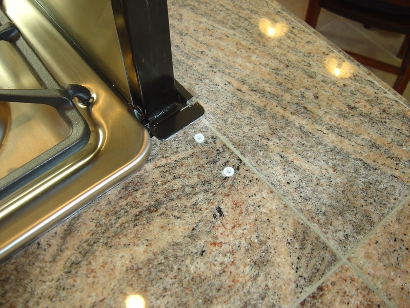... and Stone Countertop Repair Blog: Granite Tile Countertop Repair
