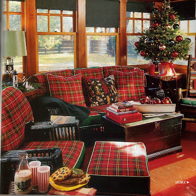 Common Ground I 39 M Mad For Plaid In The Sunroom