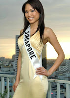 as miss singapore universe