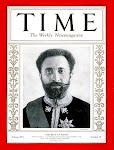 """H.I.M. en la portada de la revista """"Time"""" de 1930"""