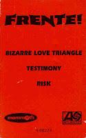 """90's Music """"Bizarre Love Triangle"""" Frente"""