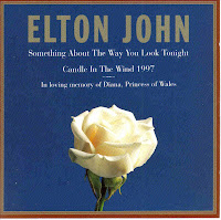 """90's Music """"Candle In The Wind 1997"""" """"Something About The Way You Look Tonight"""" Elton John"""
