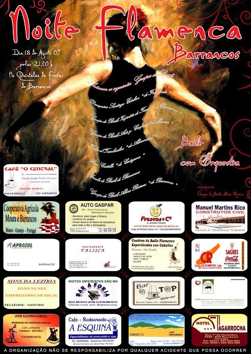 Cartaz Noite Flamenca 2008