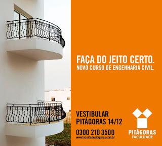 Marina Drummond: Campanha Engenharia Civil Faculdade Pitágoras