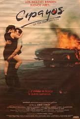Afiche de estreno de Cipayos, la Tercera Invasión, de Jorge Coscia (1990).