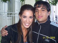 Diego con La Chula