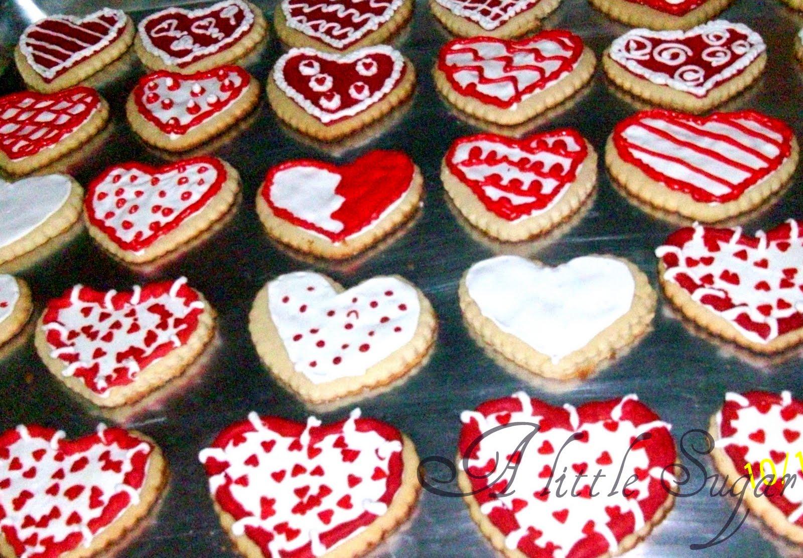 Decoraciones galletas masmelos san valentin galletas en - Decoracion de san valentin ...