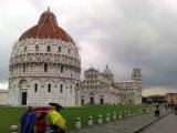Famous old builidng of Pisa