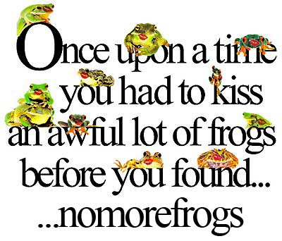 nomorefrogs on(line) dating and relationships