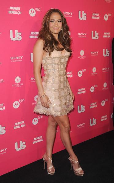 Jennifer López y Jennifer Aniston usan el mismo vestido